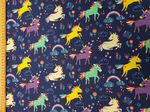Unicorn material - Jersey Fabric 95% Cotton 5% Spandex - Price Per Metre